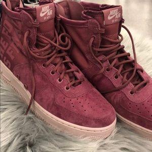 Nike Air SF AF1 Mauve Woman Sneaker